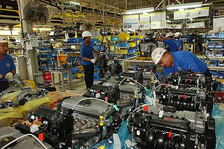 Malaysia Jan industrial output up 0.6% y-o-y; mining down 3.9%