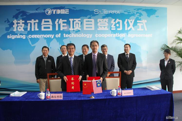 SilTerra picked as strategic partner to set up RM2.9b plant in China