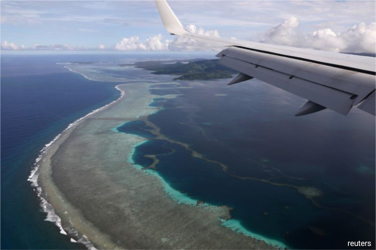 The East Micronesia Cable system was designed to improve communications in the island nations of Nauru, Kiribati and Federated States of Micronesia (FSM), by providing underwater infrastructure with a far greater data capacity than satellites.