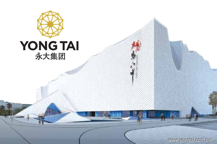 yong tai gets rm100m loan from bank of china to build