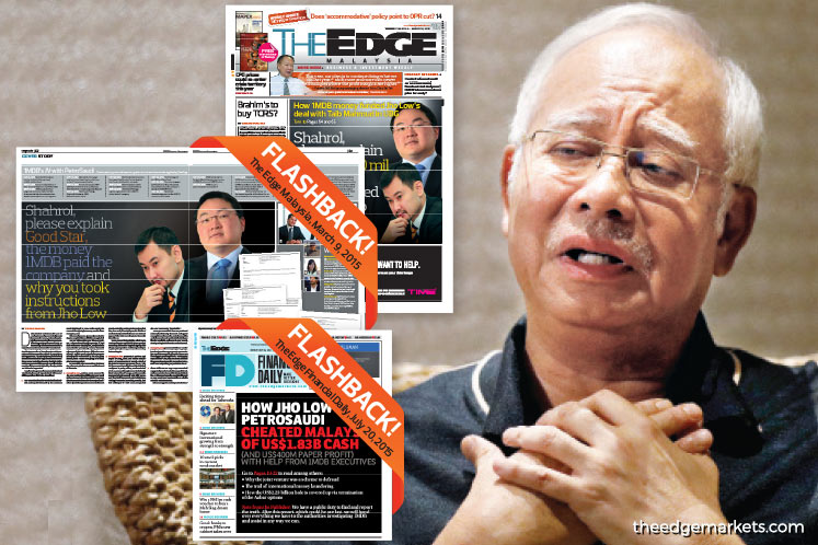 You didn't know Jho Low cheated us?