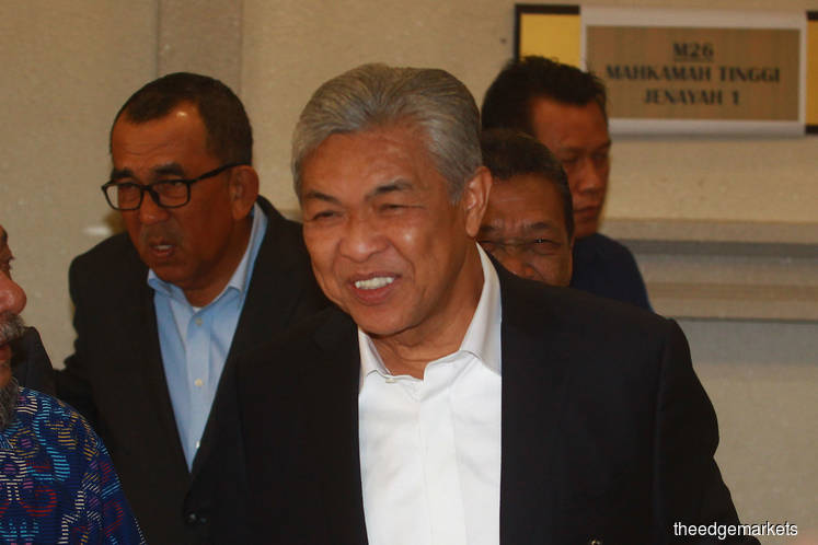 Credit card records reveal Ahmad Zahid and wife's luxurious lifestyle