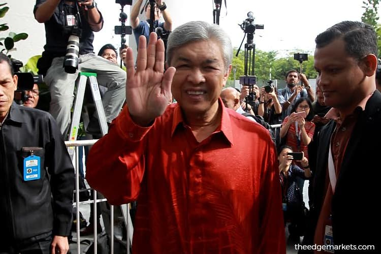 Sabah UMNO Youth wants Ahmad Zahid to resign as party president
