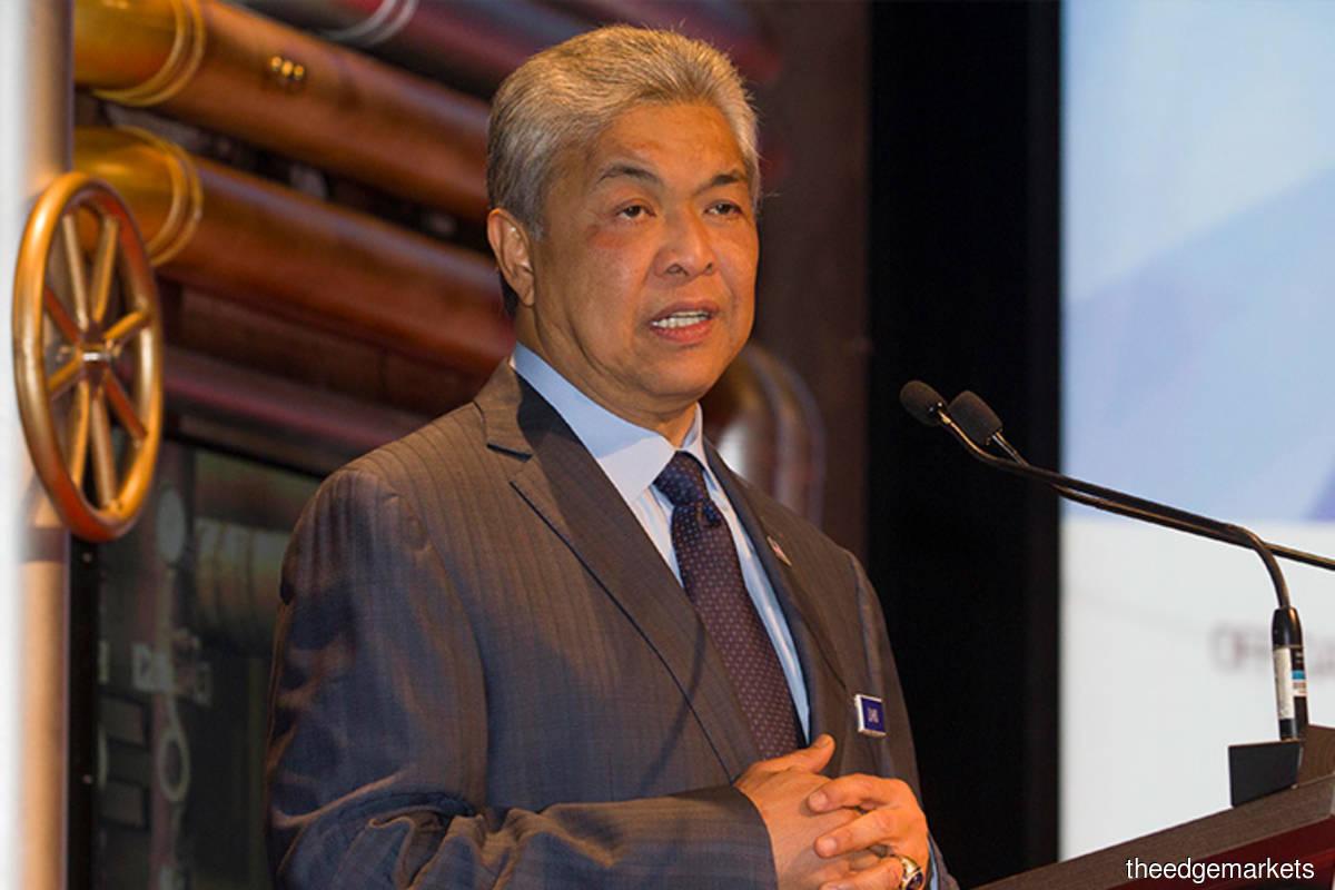 UMNO should not pressure Muhyiddin on DPM post — Zahid