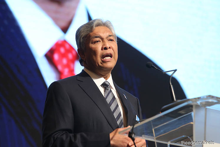 Zahid fails to challenge MACC and Money Laundering Acts