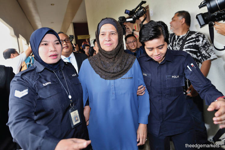 Ex-SSM chief, son claim trial to 37 graft charges