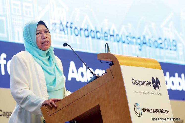 Zuraida: Foreign investors interested in financing rent-to-own schemes