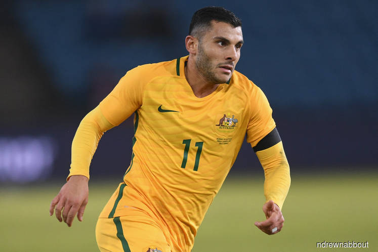 Australia forward Nabbout ruled out of World Cup