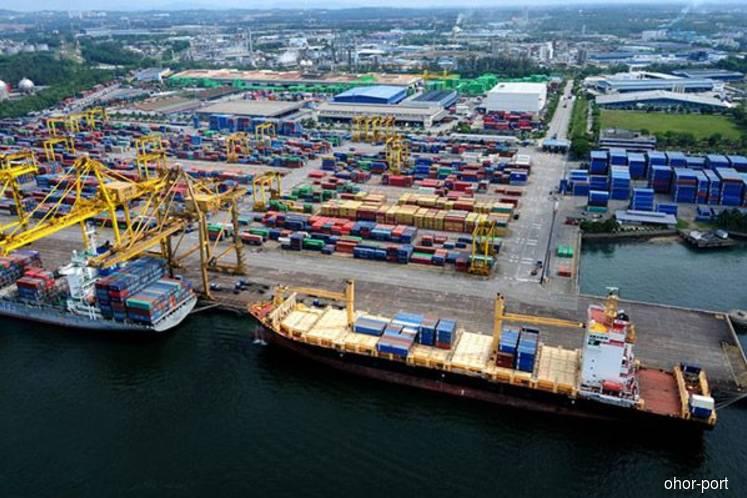 Singapore extends port limits off Tuas, overlaps JB Port limits
