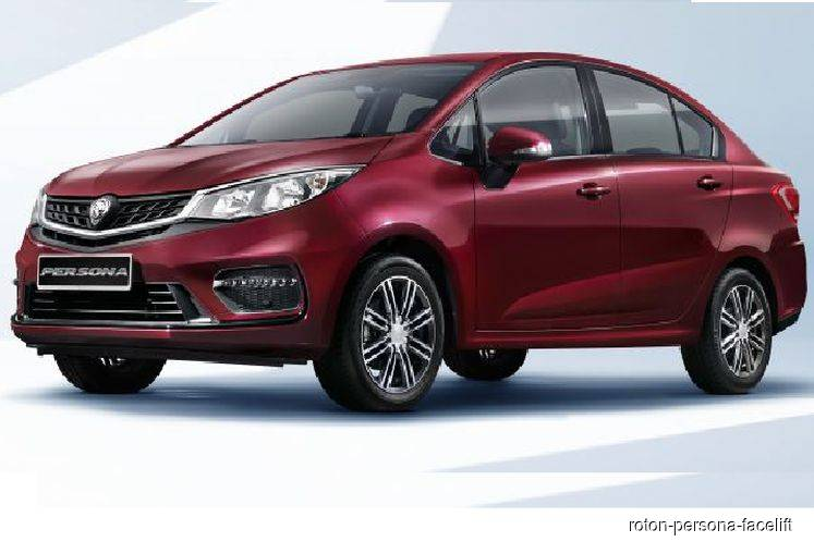 2019 Proton Persona facelift unveiled