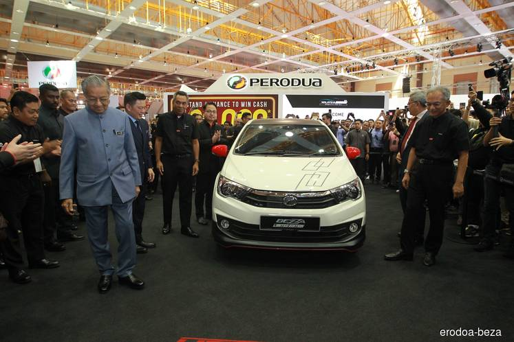 Perodua launches limited-edition Bezza at Malaysia Autoshow 2019