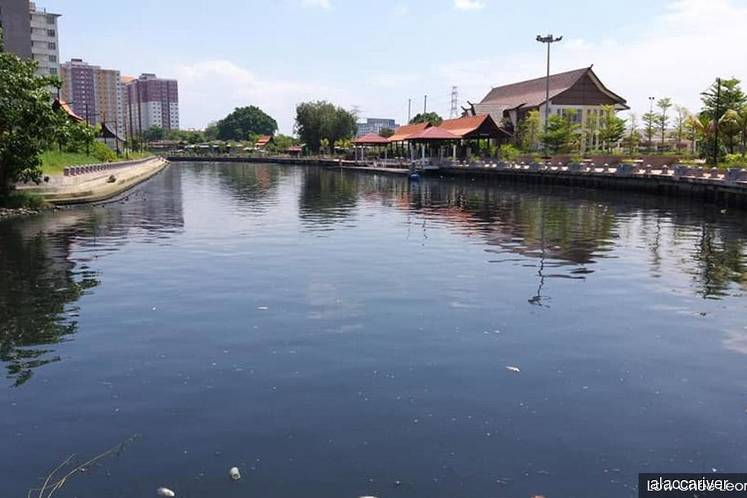 Discolouration, foul smell in Sungai Melaka not caused by pollution — Exco