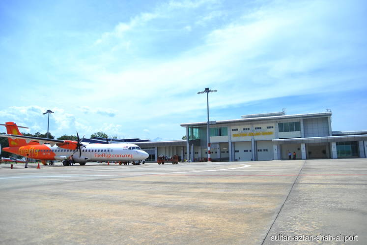 RM250 million allocated to upgrade Sultan Azlan Shah Airport