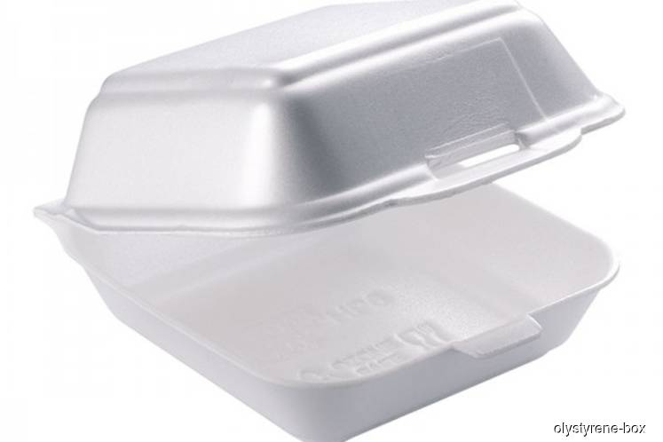 Nilai, Seremban to ban use of polystyrene food containers next year