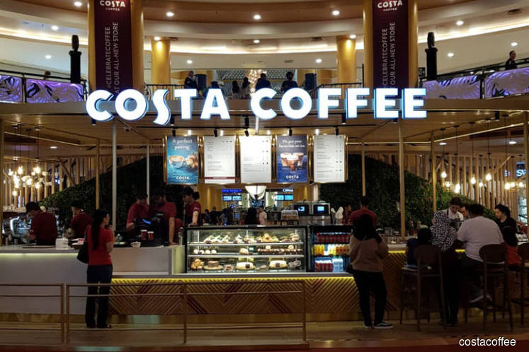 Costa Coffee's Sunway Pyramid outlet wins worldwide design award