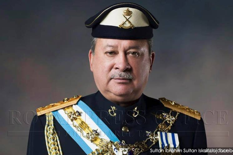 Sultan Ibrahim returns to Johor throne