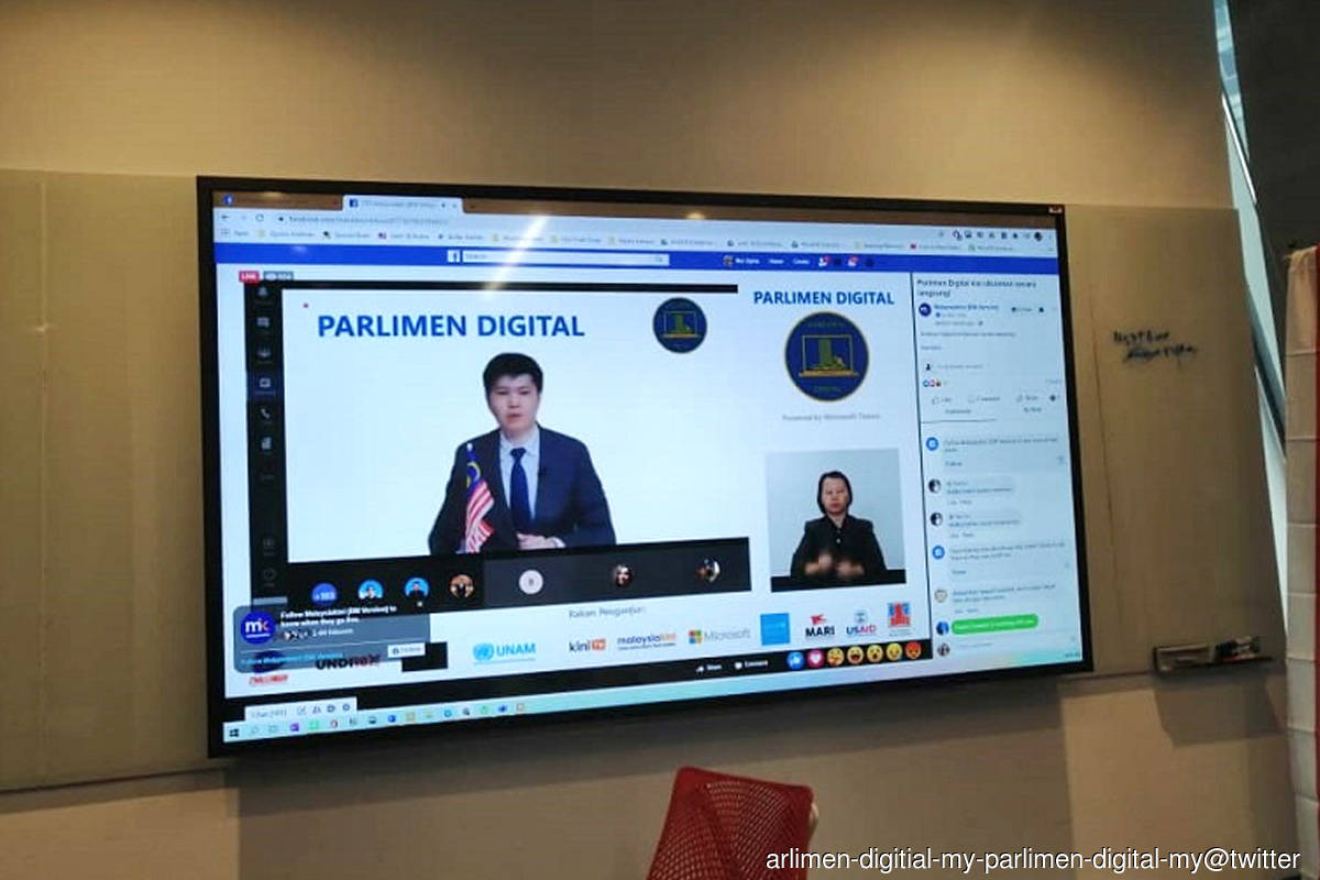 'MPs' clean up their act on Parlimen Digital