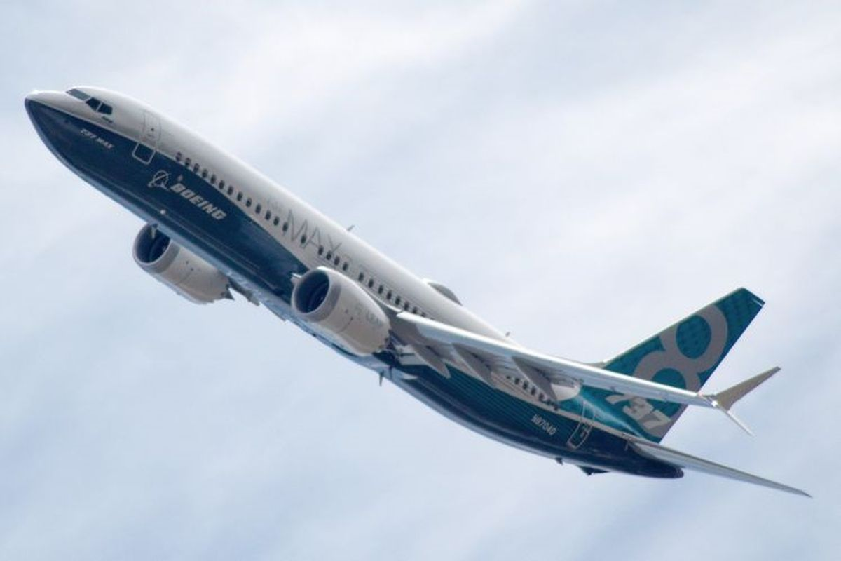 Boeing 737 MAX departs for key test flight in China
