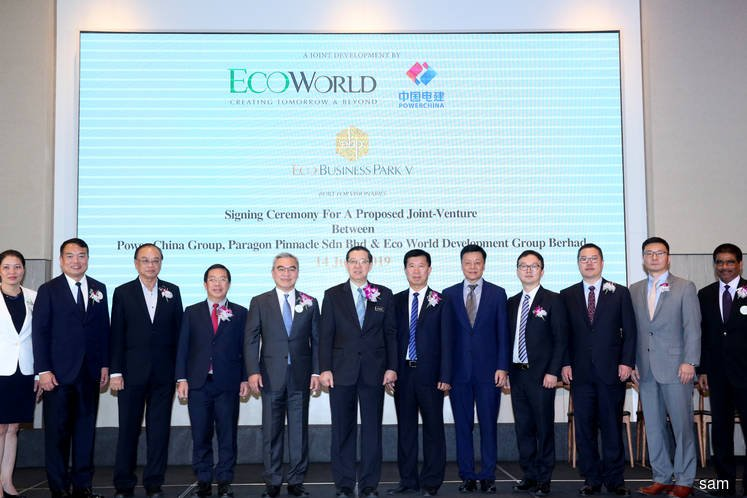 EcoWorld Development to tie up with PowerChina to bid for infrastructure projects in Malaysia