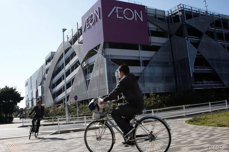 Aeon Co 2Q net profit down 65% on impairment loss at associate