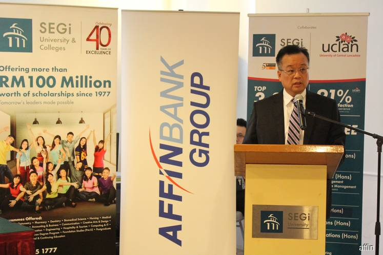 Affin partners SEGi to provide financing for students
