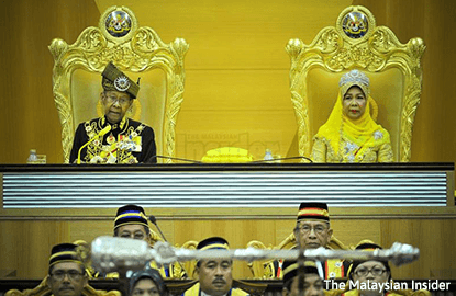 Stop social media abuse, politicking, says Agong