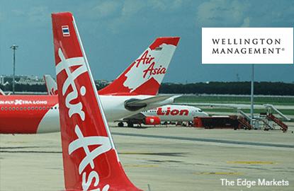 Wellington pares stake in AirAsia