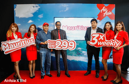 AirAsia X to start flights to Mauritius in October