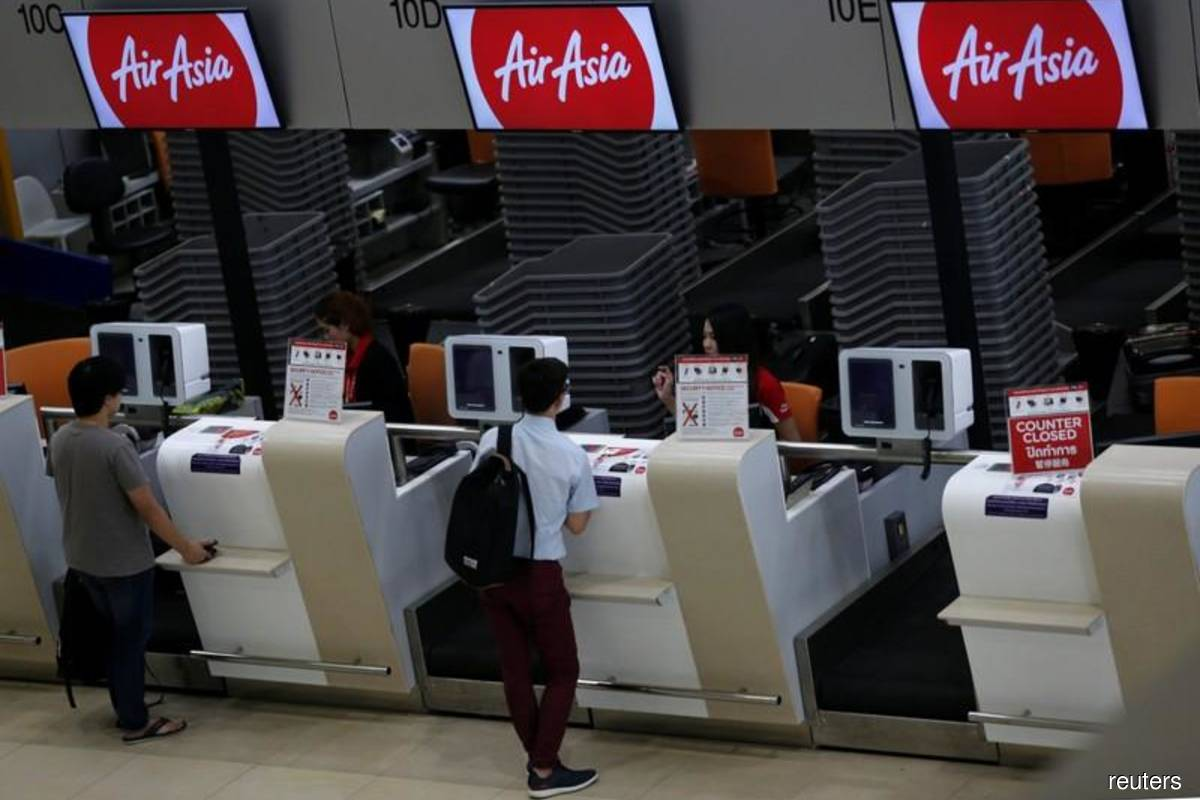 AirAsia introduces counter check-in fees to encourage use of contactless technology