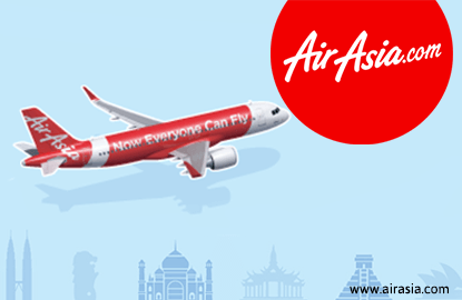 AirAsia stocks active, down on challenging outlook