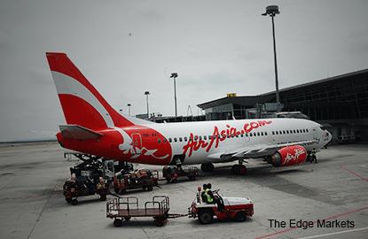 亚航首季承载率增加9个百分点至86%