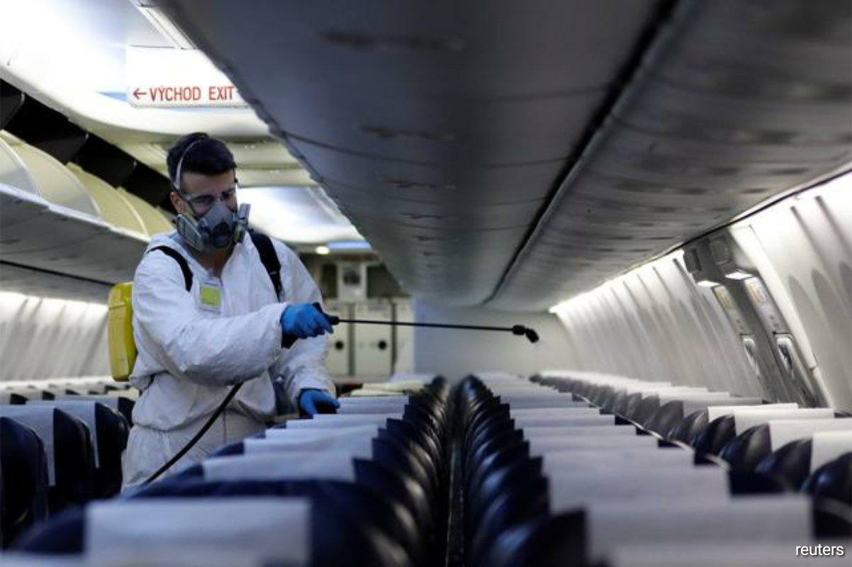 Other pandemic-related trends could include more private business class seating on narrowbody planes, adding touchless lavatory features and permanent conversions of passenger planes to freighters, according to a panel at the MRO Asia-Pacific conference held online. (Photo by Reuters)