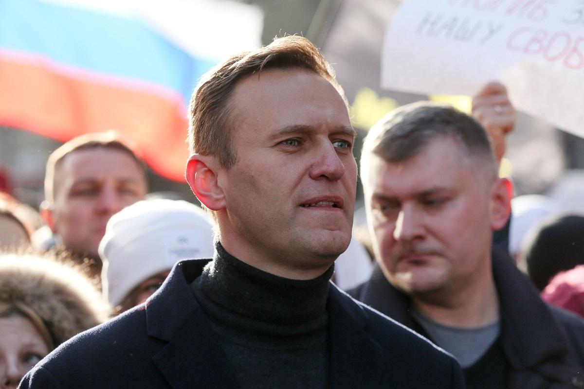 Alexei Navalny (Photo by Bloomberg)