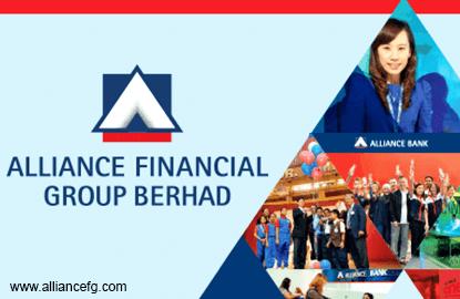 Alliance Financial Group's 4Q profit up 40%, declares 6.5 sen dividend