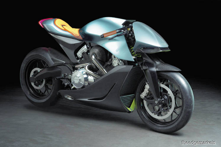 MOTORCYCLES: Aston Martin's US$120,000 motorcycle not street-legal