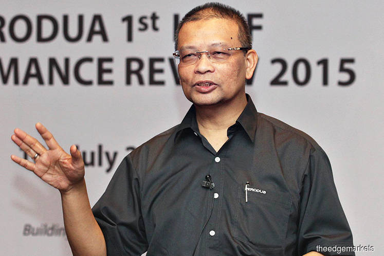 Ex-Perodua CEO Aminar nominated as MBM Resources director