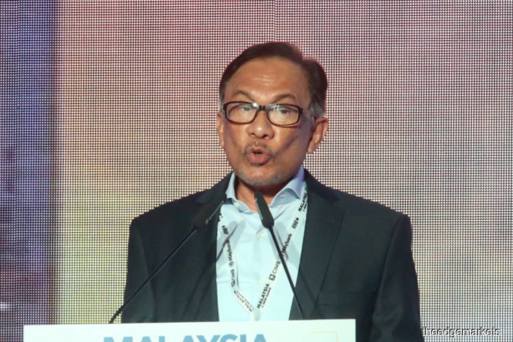 Anwar: Azmin should resign if he is the man in sex video