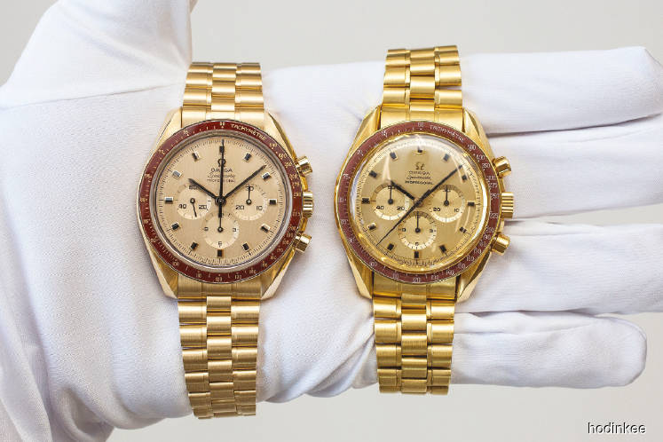 Watches: Once-in-a-lifetime encounter with Omega first gold Speedmaster