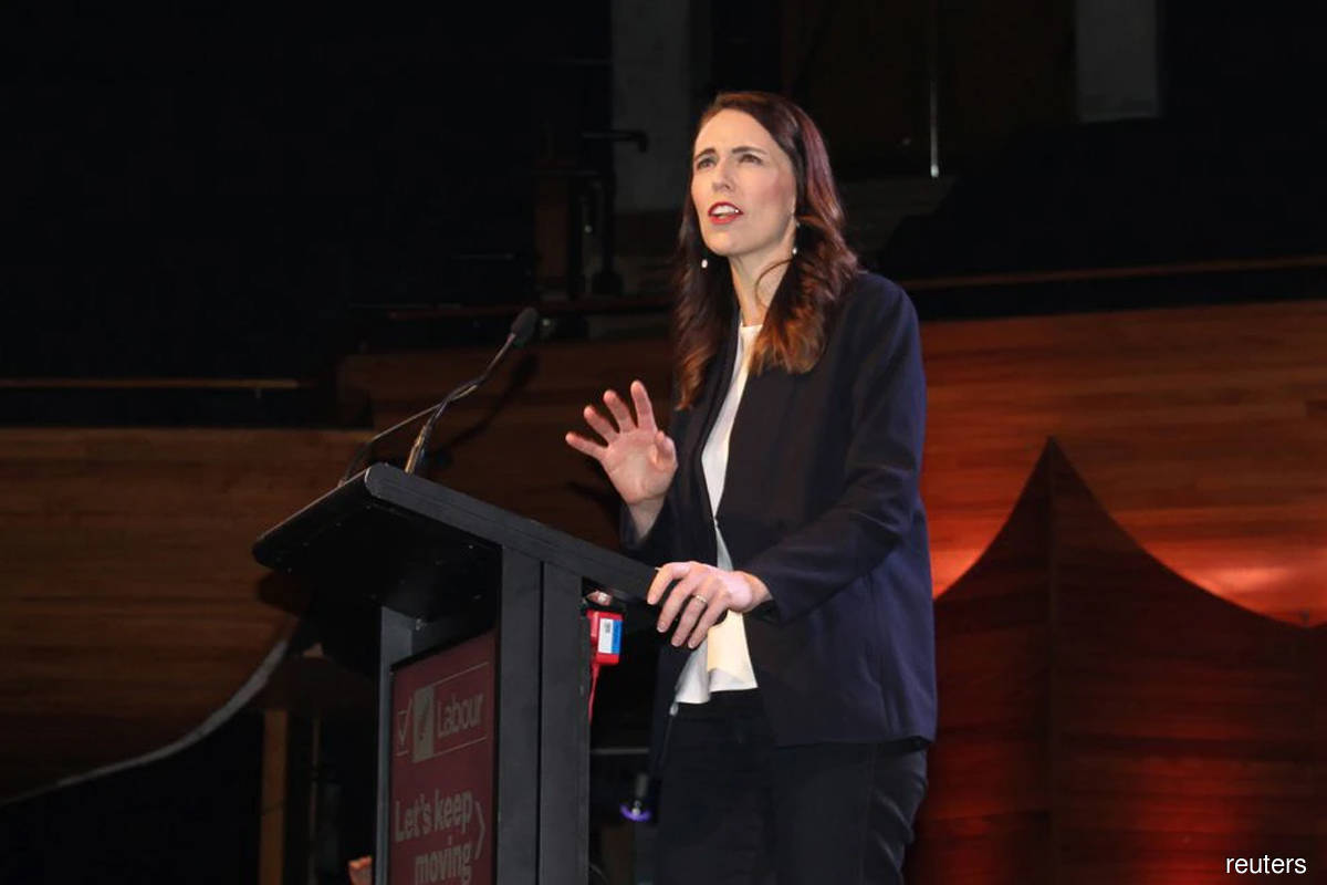 New Zealand PM Ardern takes Covid-19 test after reporting sick