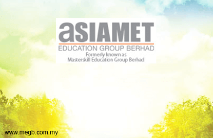 Asiamet Edu Group to see fruit of efforts in 3Q