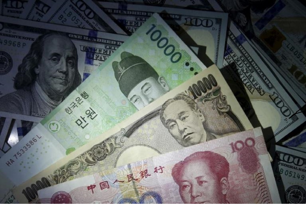 Asian currencies broadly steady after yuan move, Taiwan sees export boost