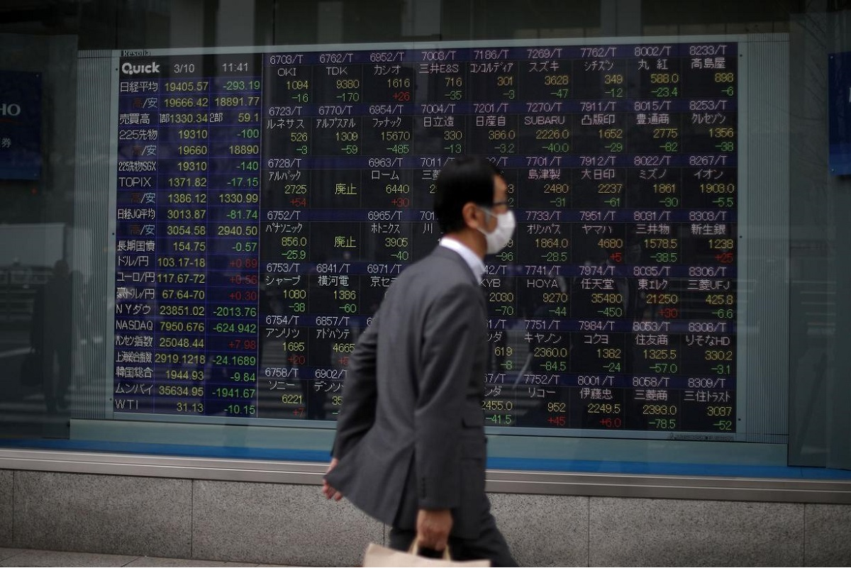 Asia shares subdued by tech retreat, US futures steady