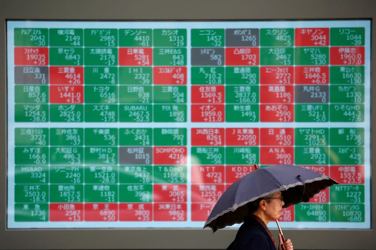 Asian stocks post biggest fall in twomonths on US stimulus worries