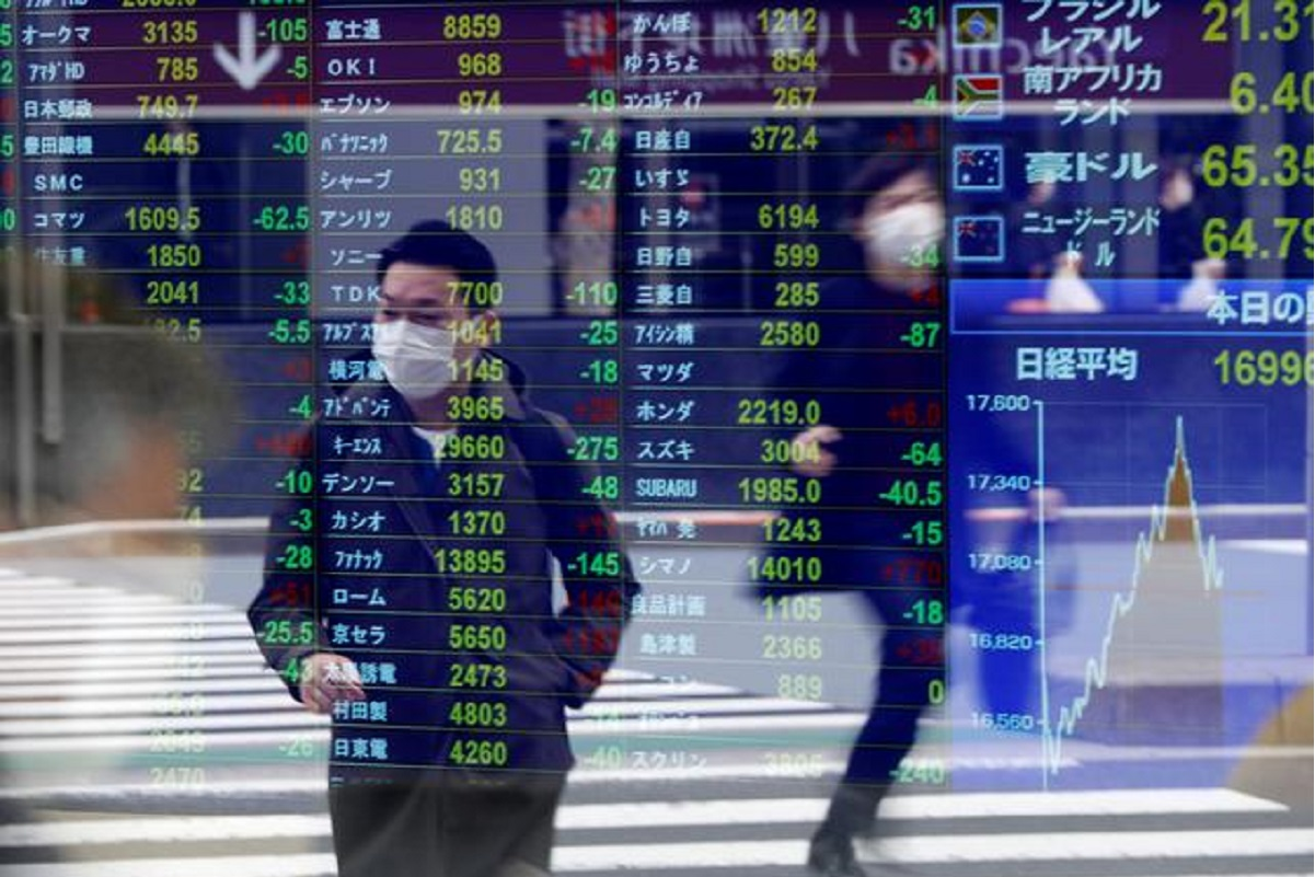 Asia shares subdued by slow vaccinations, eye on factory surveys