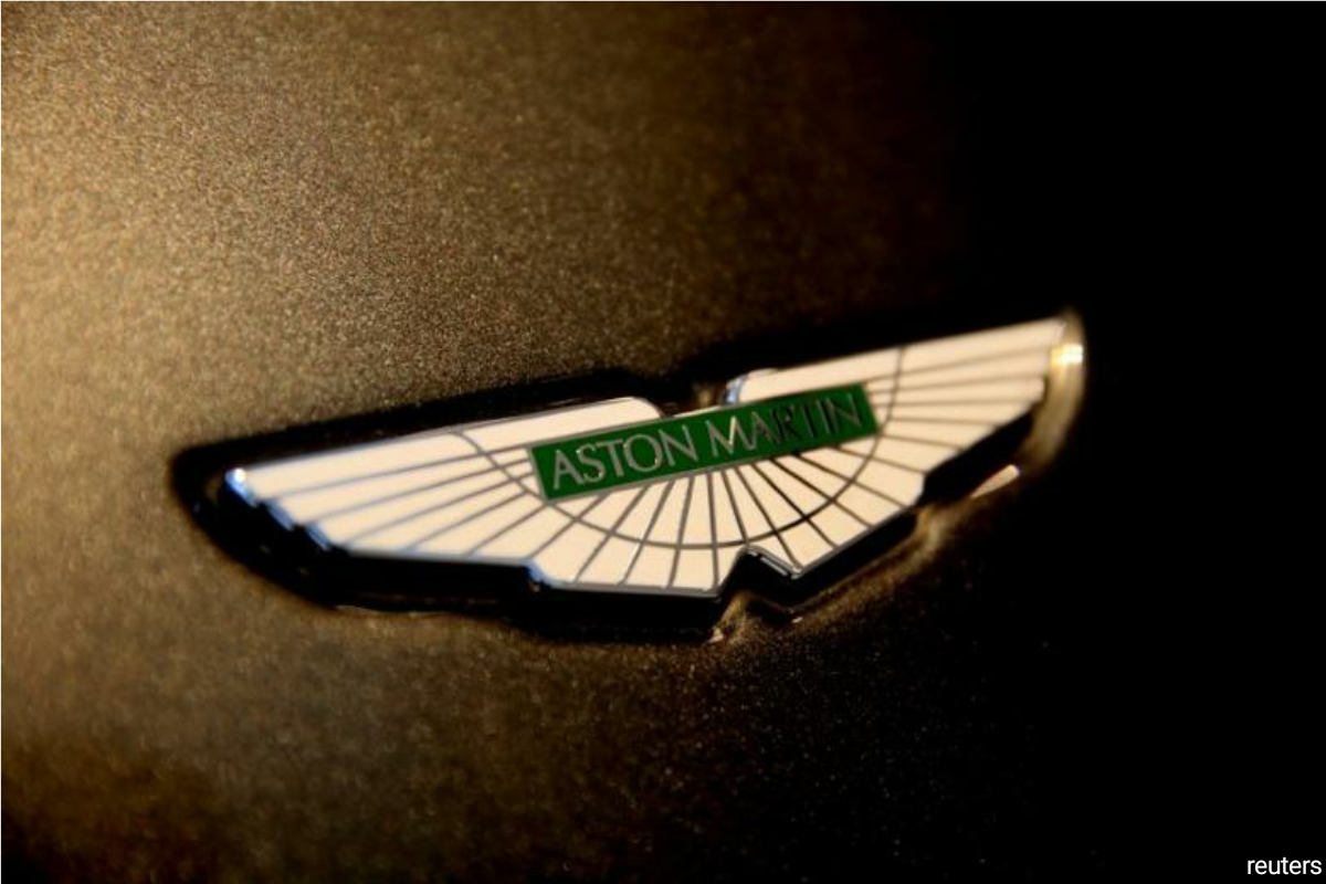 Aston Martin, popular for being James Bond's carmaker of choice, has suffered a torrid time since it floated two years ago, with its shares losing two-thirds of their value this year. (Photo by Reuters)