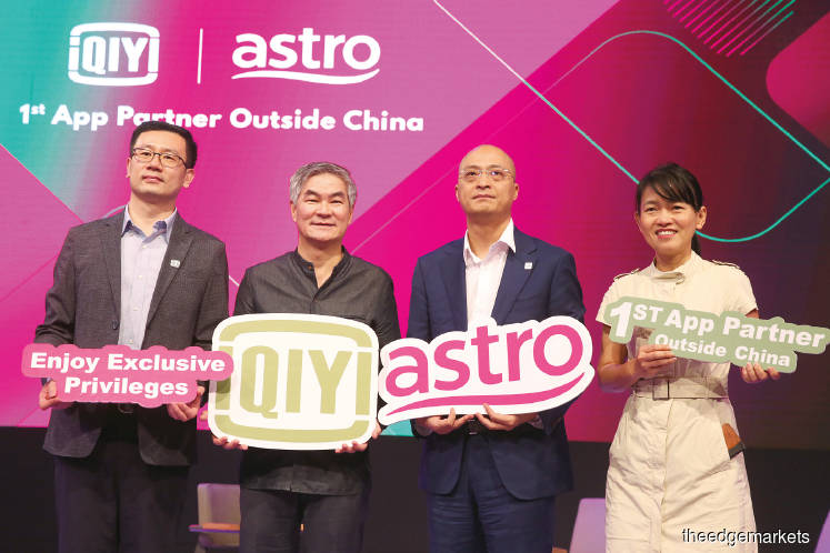 Astro, iQiyi launch first streaming app outside China