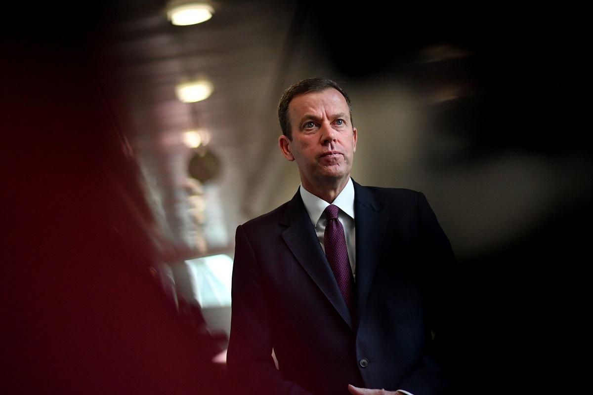 Australia's Trade Minister Dan Tehan (Photo by Bloomberg)