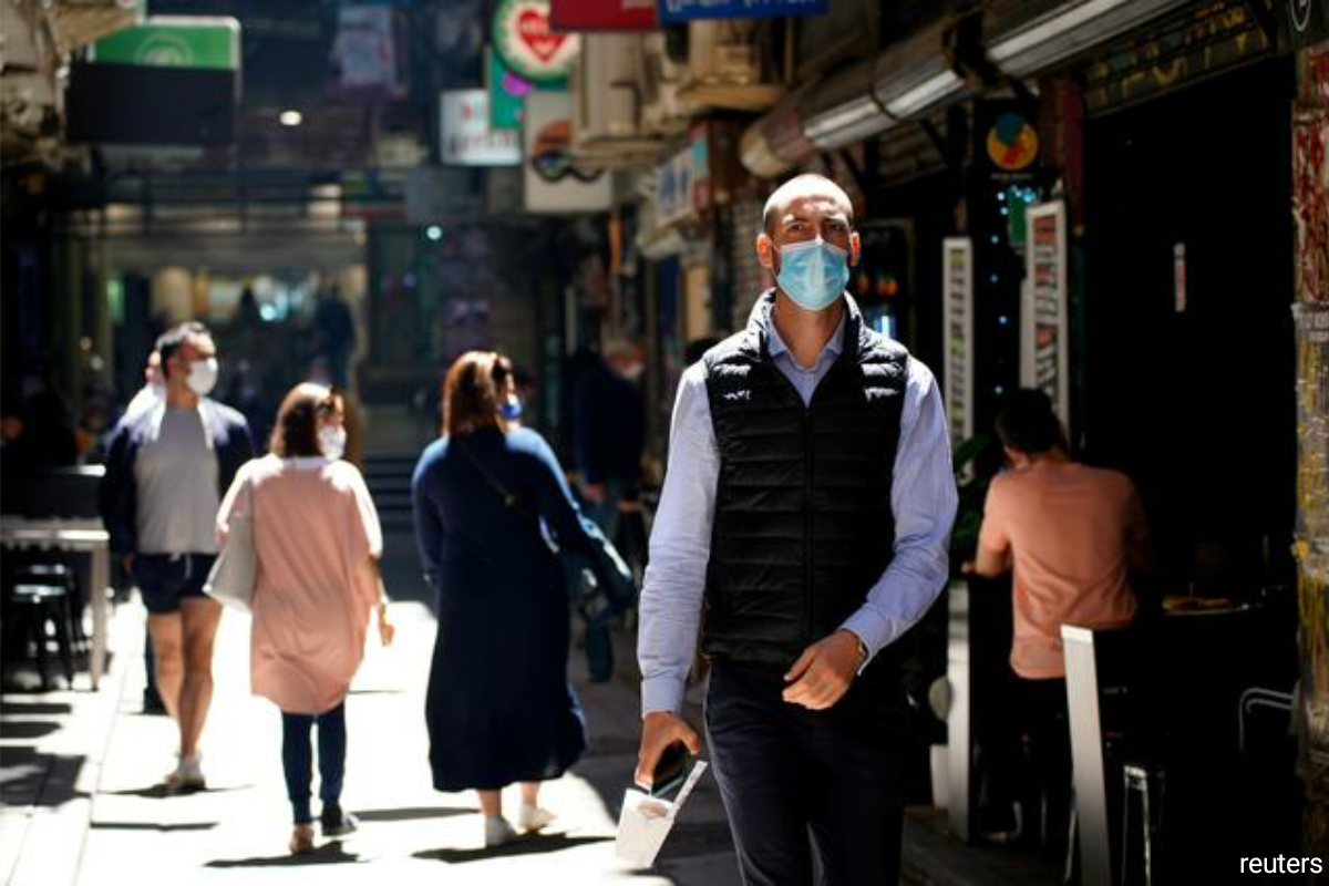 Australia has recorded more than 22,000 local cases since the pandemic began and 909 deaths.