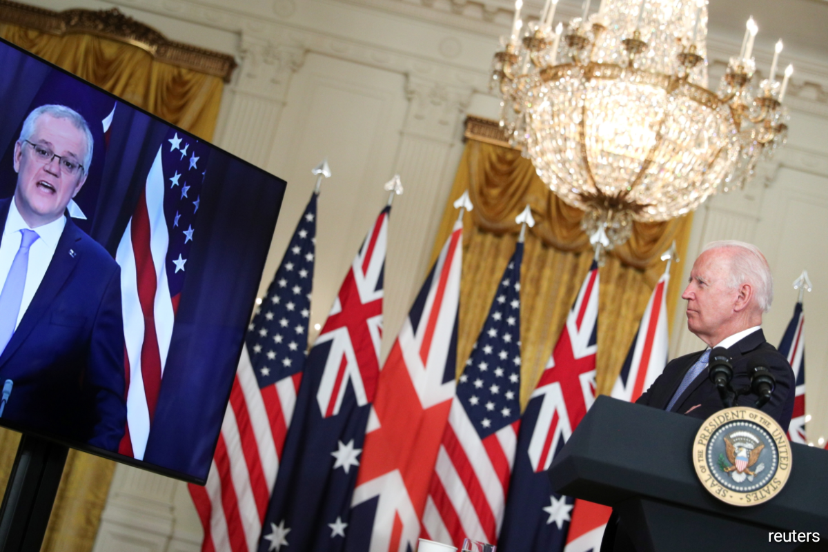 Australia will build eight nuclear-powered submarines under an Indo-Pacific security partnership with the United States and Britain. Reuters