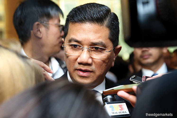 Let Dr Mahathir complete five-year term as PM, says Azmin
